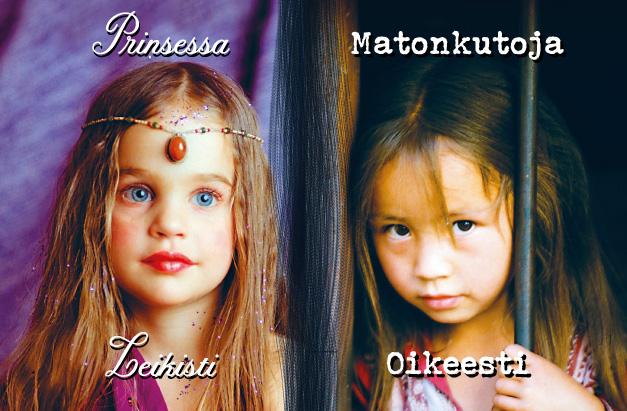 Prinsessa ja matonkutoja.