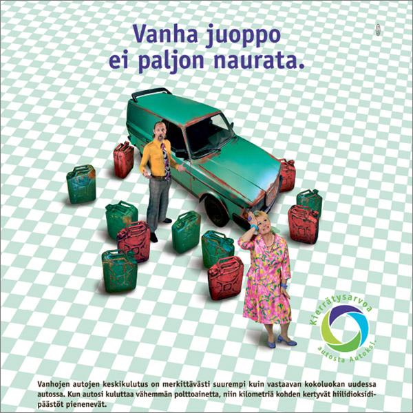 Suomen Autokierrätys, kampanja