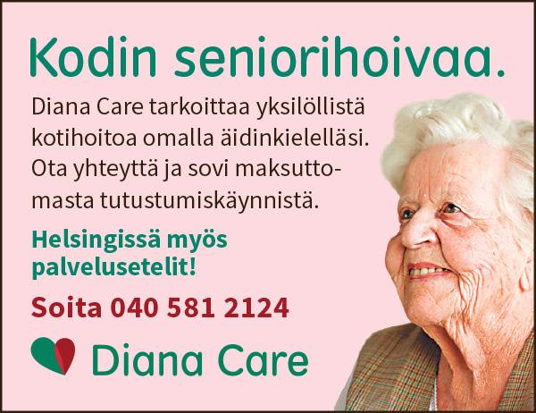 Diana Care, K&K lehtimainos.