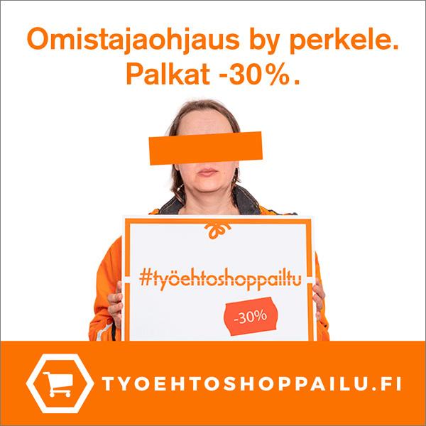 PAU, työehtoshoppailu kampanja